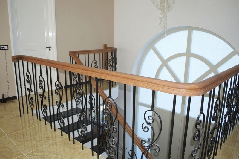 Balustrade trapland traprenovatie - Balustrade trap ...