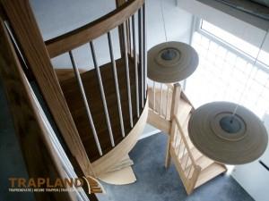 moderne eiken trap