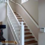 nieuwe trap witte afwerking